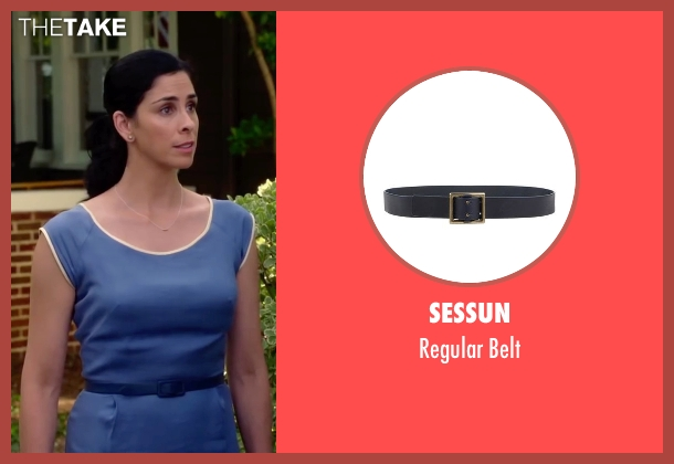 Sessun blue belt from Ashby seen with Sarah Silverman (June Wallis)