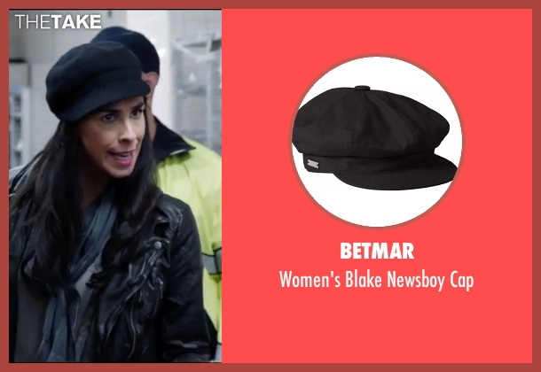 Betmar black cap from Popstar: Never Stop Never Stopping seen with Sarah Silverman (Unknown Character)