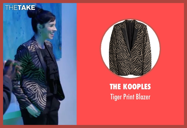 The Kooples blazer from Popstar: Never Stop Never Stopping seen with Sarah Silverman (Unknown Character)