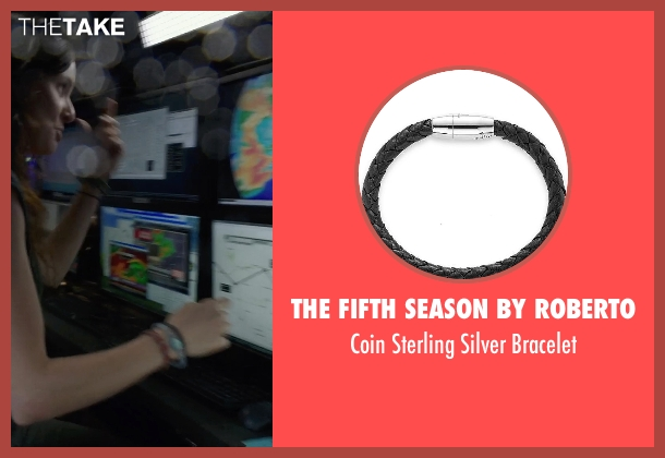 The Fifth Season by Roberto black bracelet from Into the Storm seen with Sarah Wayne Callies (Allison Stone)
