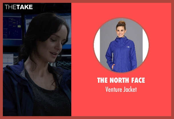 The North Face blue jacket from Into the Storm seen with Sarah Wayne Callies (Allison Stone)