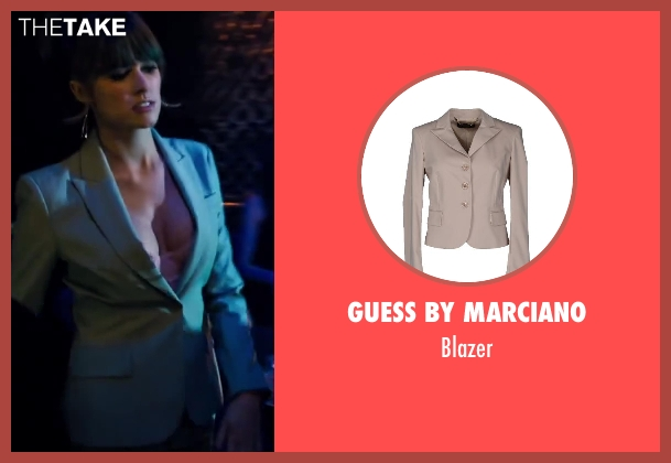 GUESS BY MARCIANO beige blazer from Walk of Shame seen with Sarah Wright (Denise)