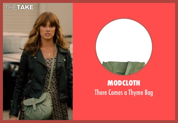 ModCloth green bag from Walk of Shame seen with Sarah Wright (Denise)