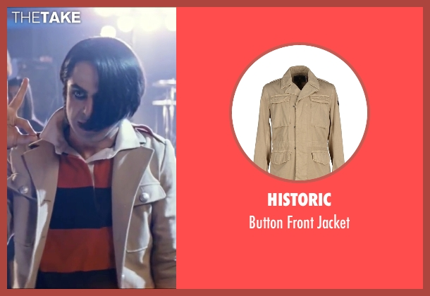 Historic beige jacket from Scott Pilgrim Vs. The World seen with Satya Bhabha (Matthew Patel)