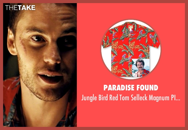 Paradise Found red shirt from Savages