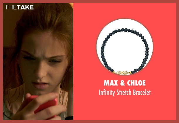 Max & Chloe black bracelet from Poltergeist seen with Saxon Sharbino (Kendra Bowen)