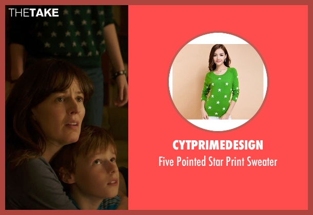 CYTprimedesign green sweater from Poltergeist seen with Saxon Sharbino (Kendra Bowen)