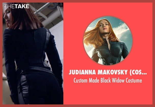 Judianna Makovsky (Costume Designer) costume from Captain America: The Winter Soldier seen with Scarlett Johansson (Natasha Romanoff / Black Widow)