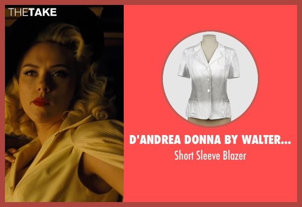 D'Andrea Donna by Walter Duchini white blazer from Hail, Caesar! seen with Scarlett Johansson (Unknown Character)