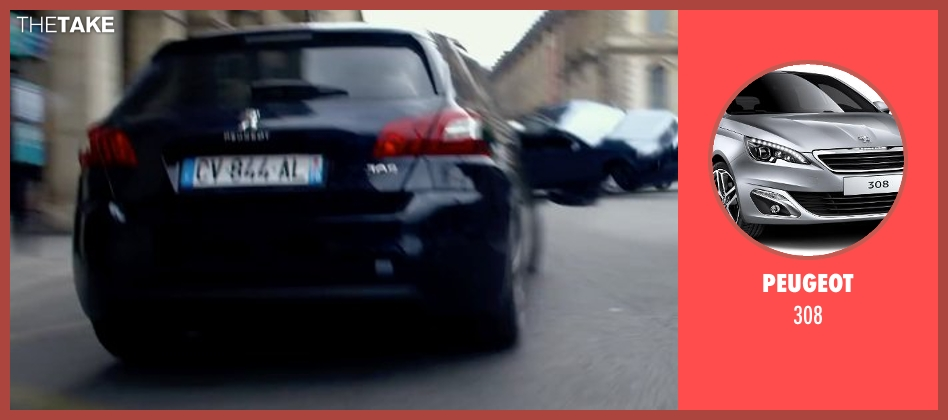 Peugeot 308 from Lucy seen with Scarlett Johansson (Lucy)