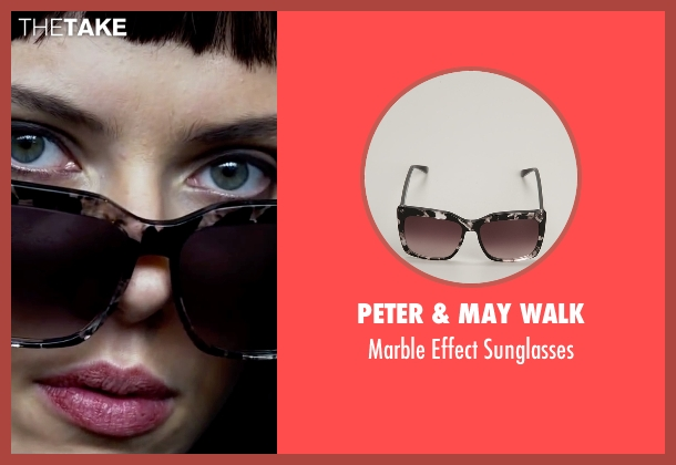 Peter & May Walk black sunglasses from Lucy seen with Scarlett Johansson (Lucy)
