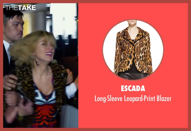 Escada blazer from Lucy seen with Scarlett Johansson (Lucy)