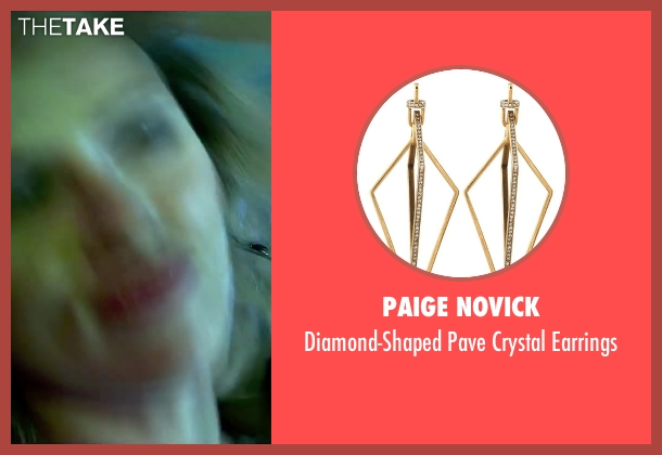 Paige Novick earrings from Lucy seen with Scarlett Johansson (Lucy)
