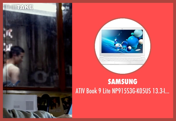 Samsung laptop from Lucy seen with Scarlett Johansson (Lucy)