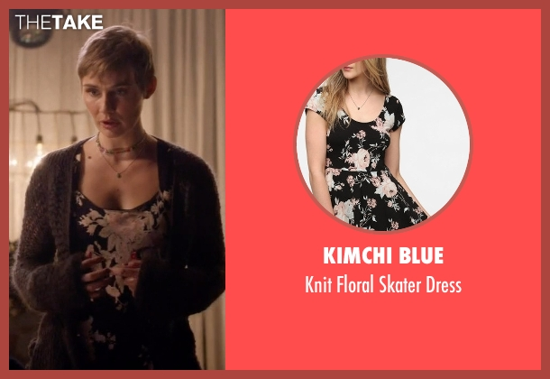 Kimchi Blue black dress from Nashville seen with Scarlett O'Connor (Clare Bowen)