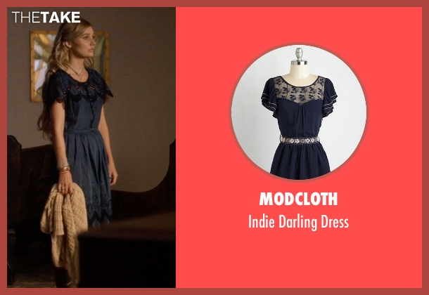 ModCloth blue dress from Nashville seen with Scarlett O'Connor (Clare Bowen)