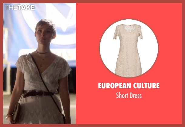 European Culture white dress from Nashville seen with Scarlett O'Connor (Clare Bowen)