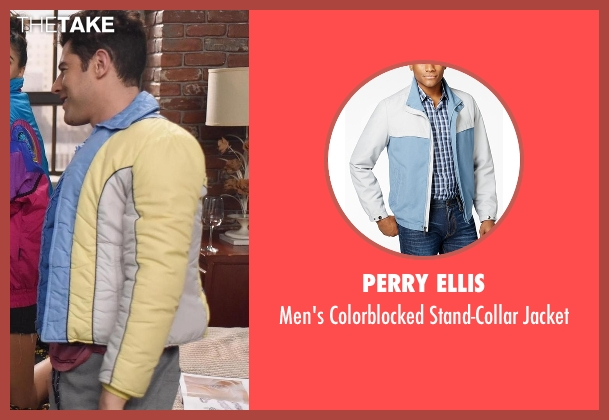 Perry Ellis  jacket from New Girl seen with Schmidt (Max Greenfield)