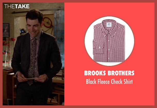 Brooks Brothers red shirt from New Girl seen with Schmidt (Max Greenfield)