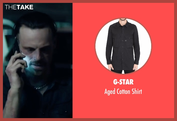 G-Star black shirt from Sleepless seen with Scoot McNairy (Rob Novak)