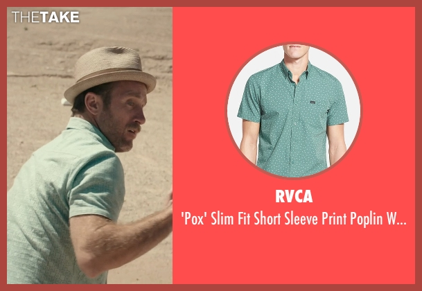 RVCA green shirt from Rock The Kasbah seen with Scott Caan (Unknown Character)