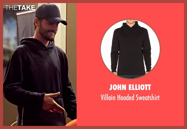 John Elliott black sweatshirt from Keeping Up With The Kardashians seen with Scott Disick