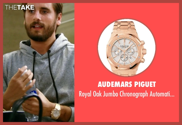 Audemars Piguet gold watch from Keeping Up With The Kardashians seen with Scott Disick