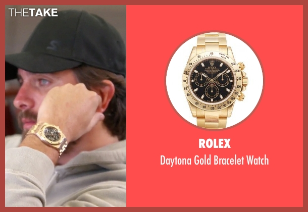Rolex gold watch from Keeping Up With The Kardashians seen with Scott Disick