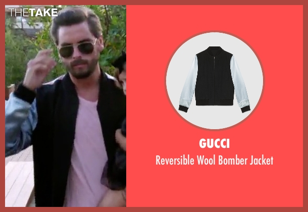 Gucci jacket from Keeping Up With The Kardashians seen with Scott Disick