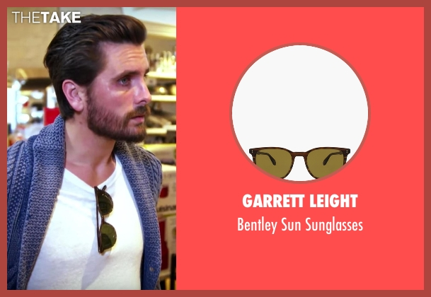 Garrett Leight sunglasses from Keeping Up With The Kardashians seen with Scott Disick