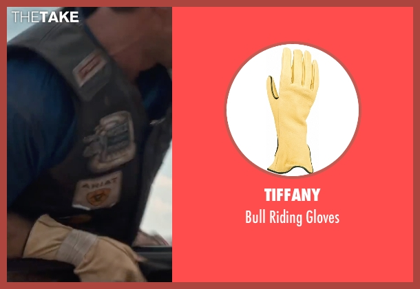 Tiffany beige gloves from The Longest Ride seen with Scott Eastwood (Luke Collins)