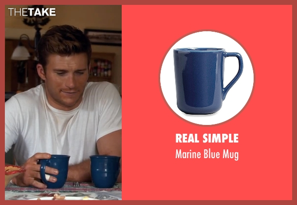 Real Simple mug from The Longest Ride seen with Scott Eastwood (Luke Collins)