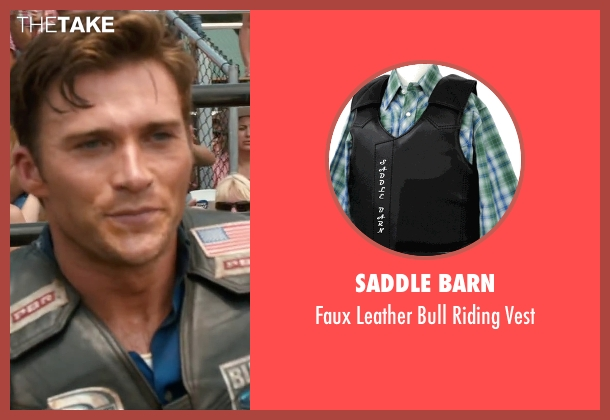 Saddle Barn vest from The Longest Ride seen with Scott Eastwood (Unknown Character)