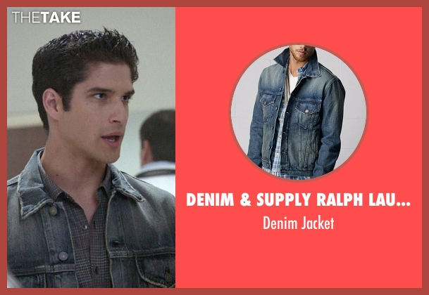 Denim & Supply Ralph Lauren blue jacket from Teen Wolf seen with Scott McCall (Tyler Posey)