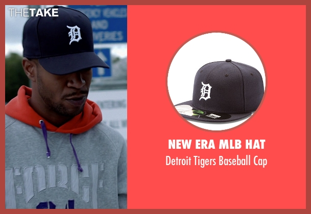 New Era MLB Hat black cap from Need for Speed seen with Scott Mescudi (Benny)
