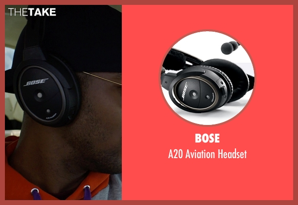 Bose black headset from Need for Speed seen with Scott Mescudi (Benny)