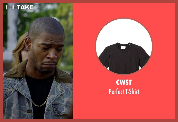 CWST black t-shirt from Need for Speed seen with Scott Mescudi (Benny)