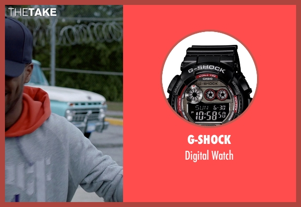 G-Shock black watch from Need for Speed seen with Scott Mescudi (Benny)