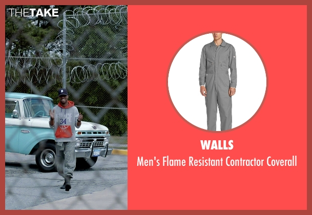 Walls gray coverall from Need for Speed seen with Scott Mescudi (Benny)