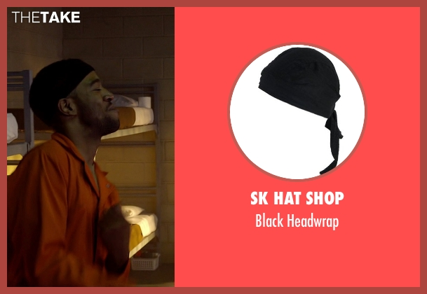 SK Hat Shop headwrap from Need for Speed seen with Scott Mescudi (Benny)