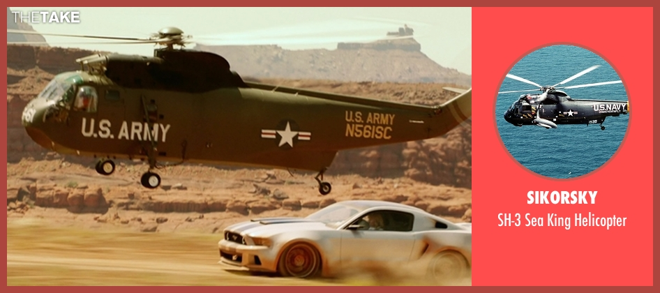 Sikorsky helicopter from Need for Speed seen with Scott Mescudi (Benny)