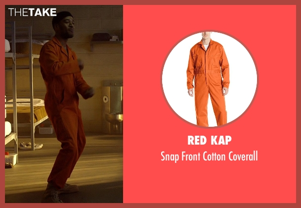 Red Kap orange coverall from Need for Speed seen with Scott Mescudi (Benny)
