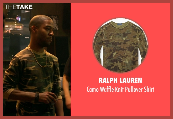 Ralph Lauren shirt from Need for Speed seen with Scott Mescudi (Benny)