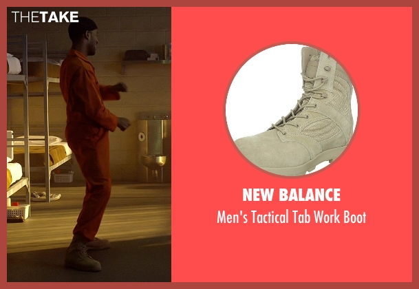 New Balance white boot from Need for Speed seen with Scott Mescudi (Benny)
