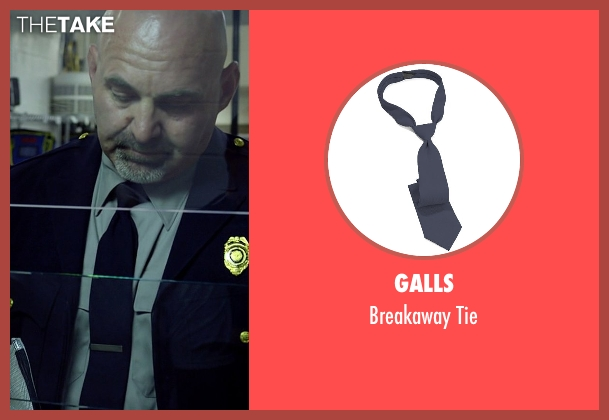 Galls blue tie from Need for Speed seen with Scott Oakley (Discharging NY Prison Guard)