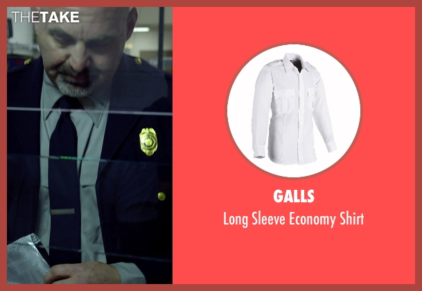Galls white shirt from Need for Speed seen with Scott Oakley (Discharging NY Prison Guard)