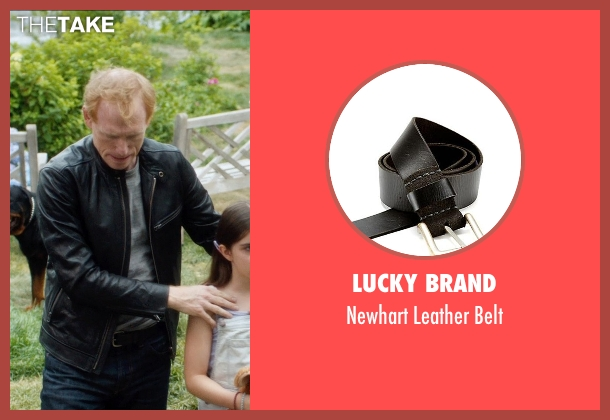 Lucky Brand black belt from And So It Goes seen with Scott Shepherd (Unknown Character)
