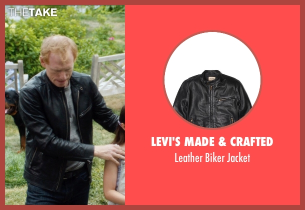 Levi's Made & Crafted black jacket from And So It Goes seen with Scott Shepherd