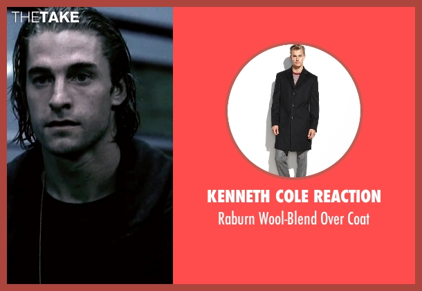 Kenneth Cole Reaction black coat from Underworld seen with Scott Speedman (Michael Corvin)
