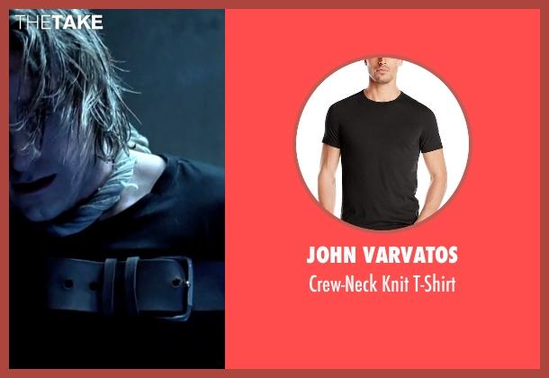 John Varvatos black t-shirt from Underworld seen with Scott Speedman (Michael Corvin)